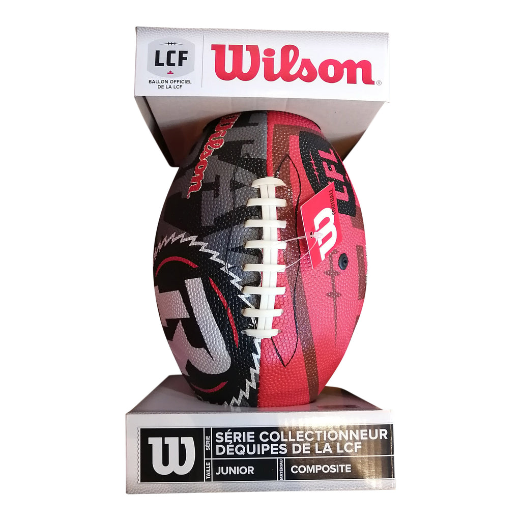 Wilson REDBLACKS Junior Composite Football