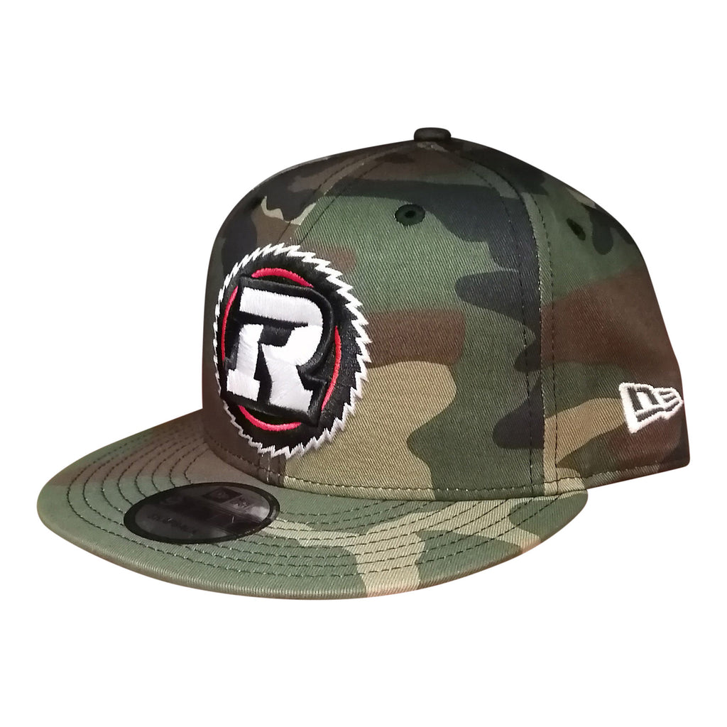 REDBLACKS New Era 9Fifty Primary Logo Camo Snapback