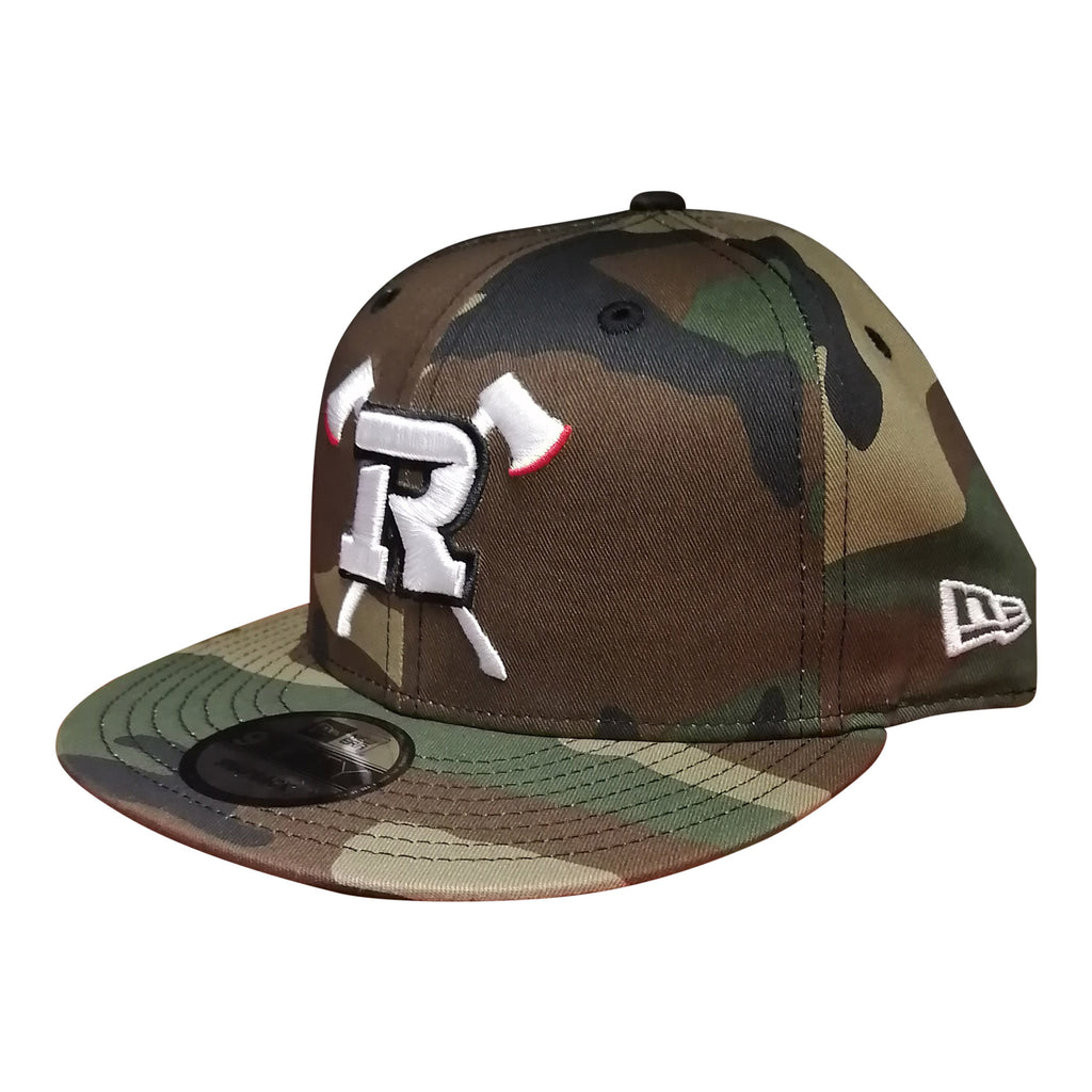 REDBLACKS New Era 9Fifty Axes Logo Camo Snapback