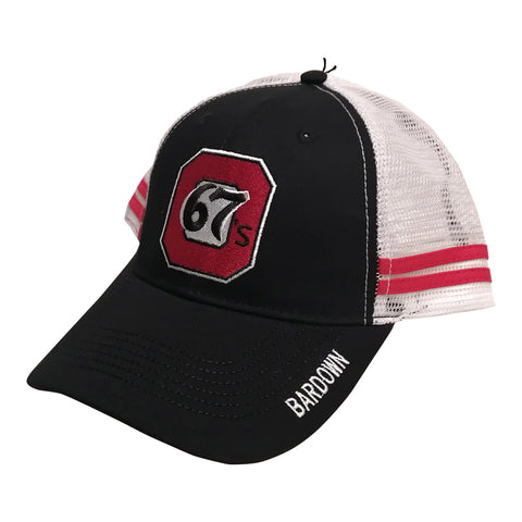 67s Bardown Red Strip Hat