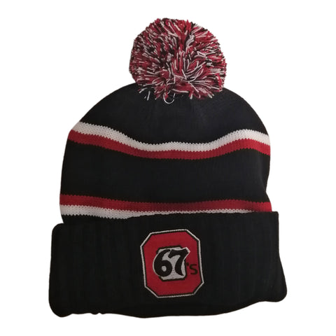 67s Bardown Red Stripe Toque