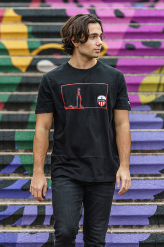 Atlético Ottawa x New Era City Edition - Fabric of the Capital T-Shirt