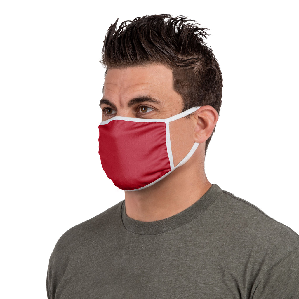 REDBLACKS Face Mask -- 3 Pack