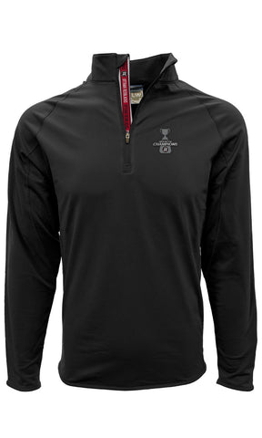 REDBLACKS Levelwear Grey Cup Champs 1/4 Zip