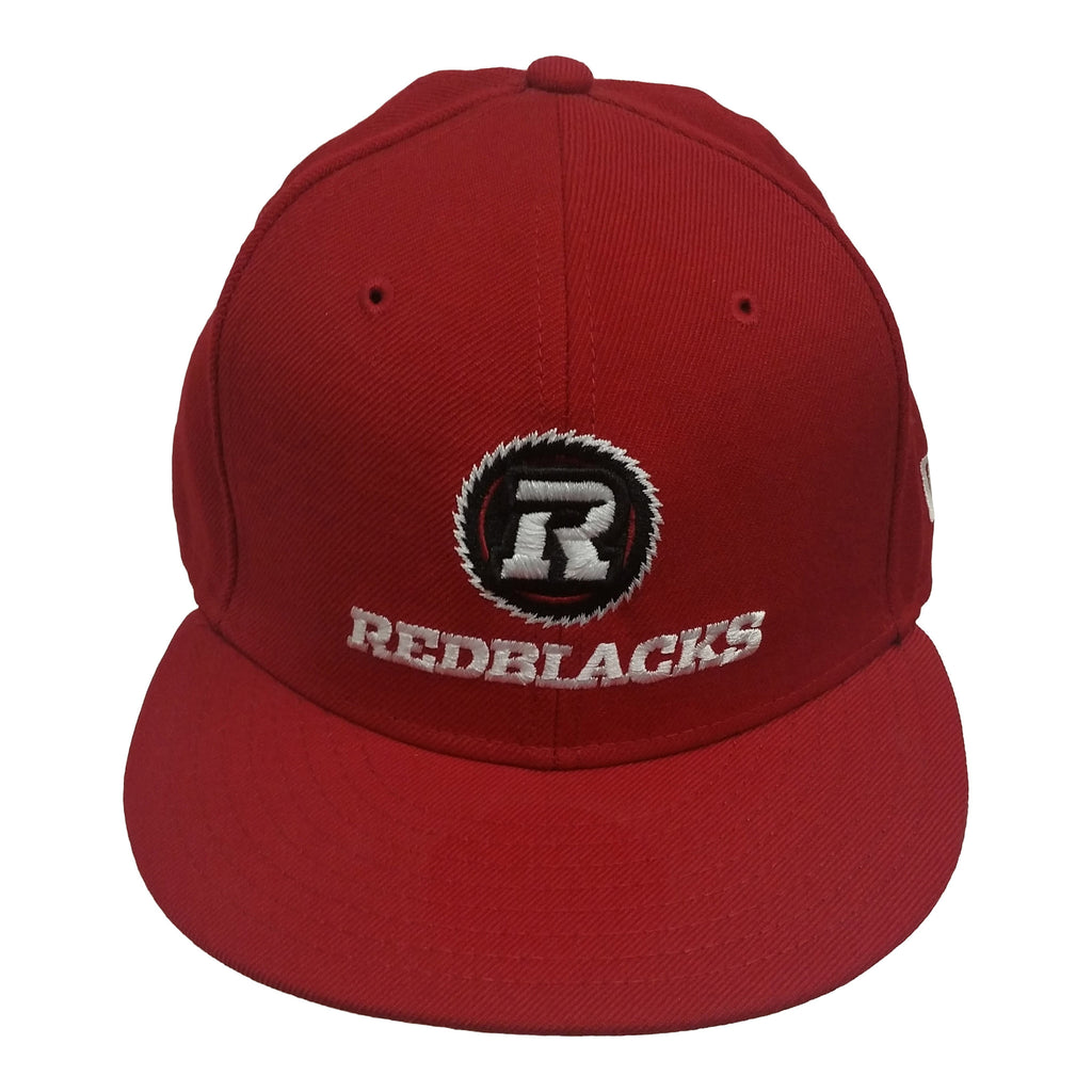 REDBLACKS NEW ERA 5950 Scarlet/Scarlet Fitted Hat