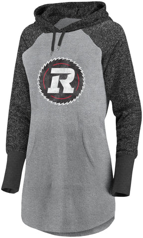 REDBLACKS Women's Tonal Distressed Hood
