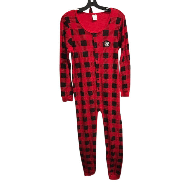 REDBLACKS Plaid Onesie