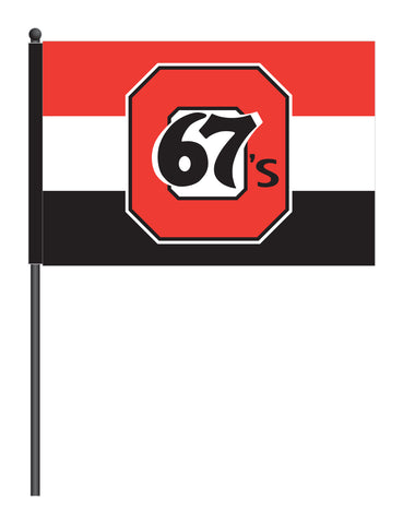 Ottawa 67's Stick Flag
