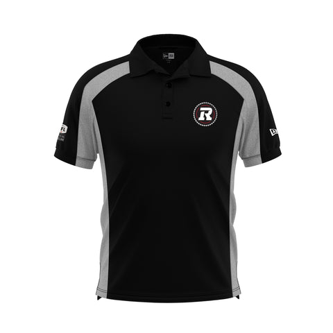 REDBLACKS New Era SL Polo Black/Grey