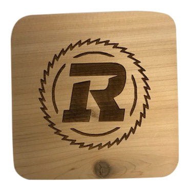 Hand Crafted Wooden Square Coaster
