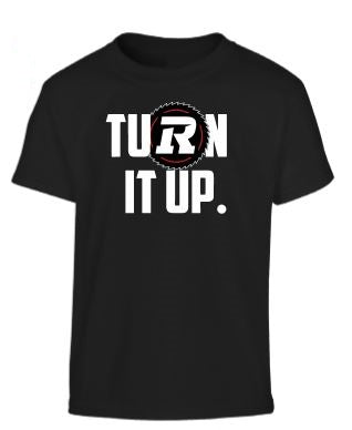 REDBLACKS Bulletin Youth Turn it Up Tee