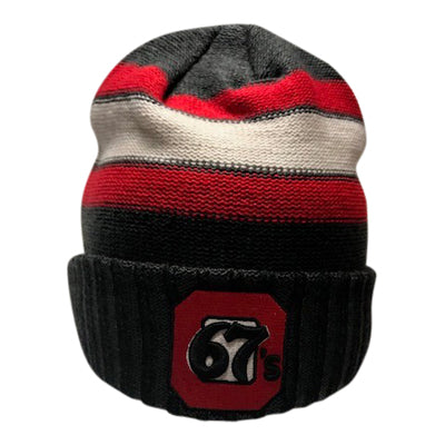 67's CCM Striped Beanie