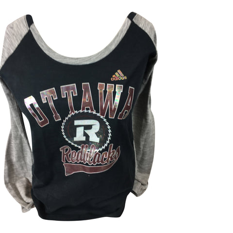 REDBLACKS Women's Long Sleeve Foil Tee