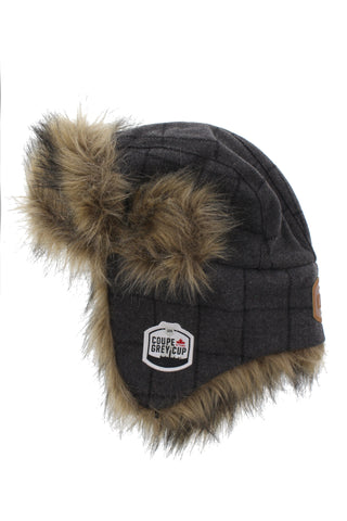 Grey Cup 105 Trapper Hat