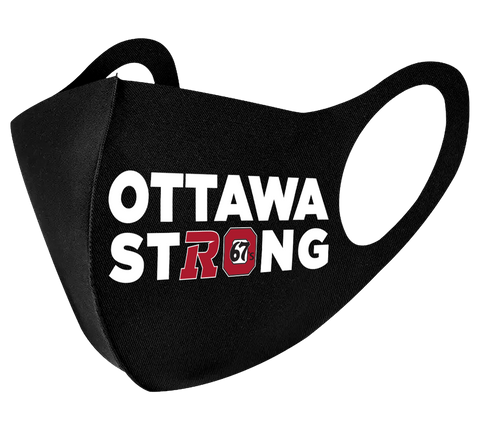 Ottawa Strong REDBLACKS / 67S Face Mask -- 3 Pack