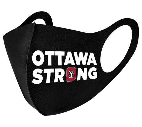 ***Pre-Order***Ottawa Strong 67'S Face Mask -- 3 Pack