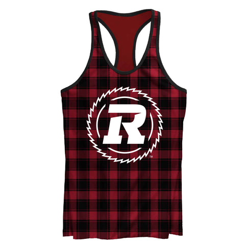 REDBLACKS All Over Plaid Tank