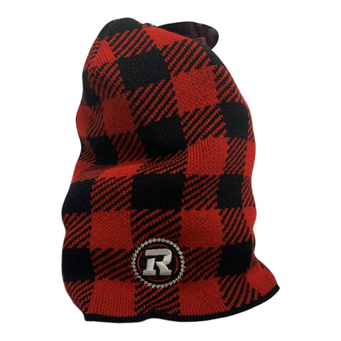 REDBLACKS Gertex Long Plaid Beanie