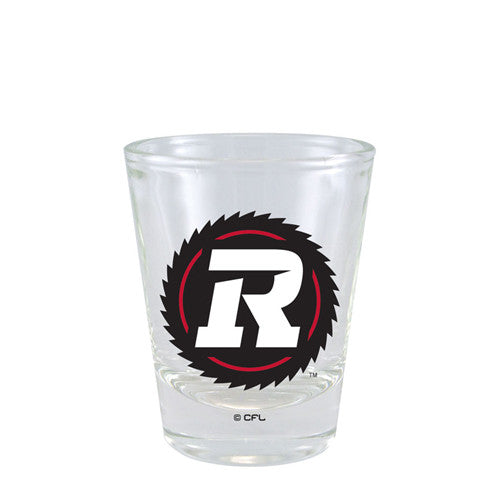 REDBLACKS Hunter 2oz. Logo Shot Glass