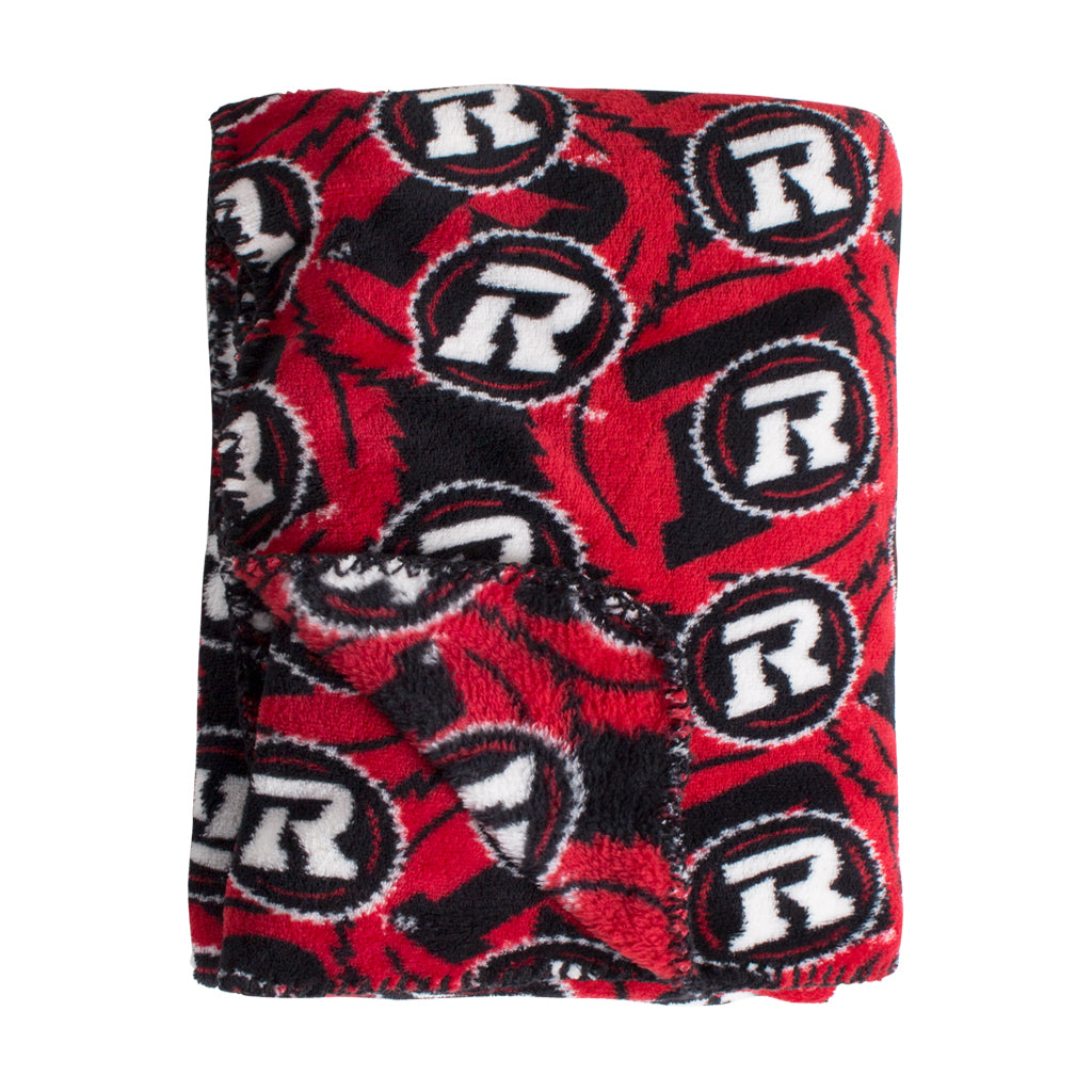REDBLACKS Fleece Throw