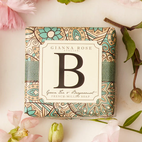 Gianna Rose Monogram Soap Letter B