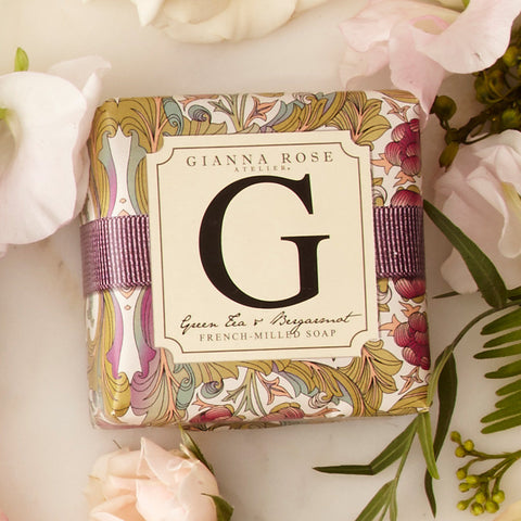 Letter G Monogram Bar Soap