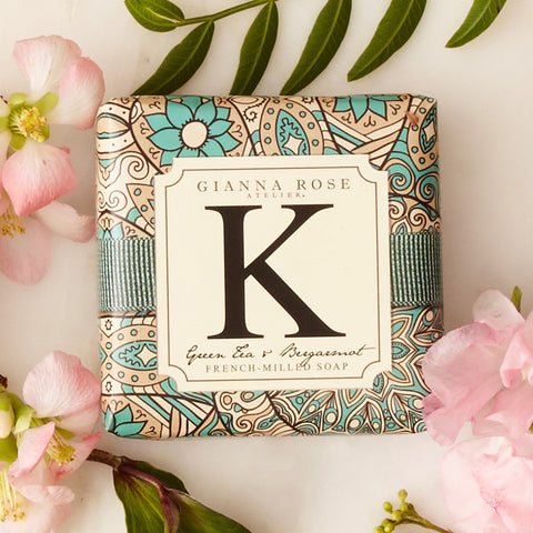 Gianna Rose Monogram Soap Letter K