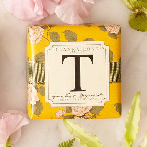 Gianna Rose Monogram Soap Letter T