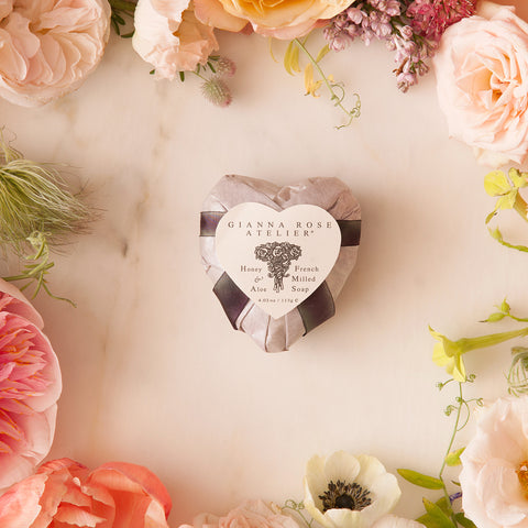 Gianna Rose Silver Heart Soap
