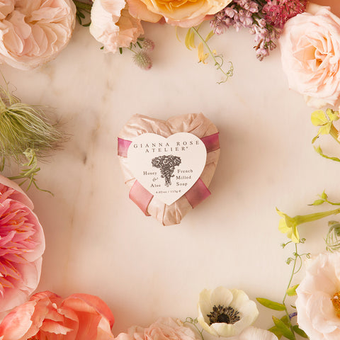 Gianna Rose Heart Soap Pearl