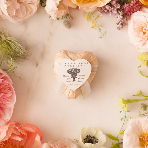 Gianna Rose Champagne Heart Soap