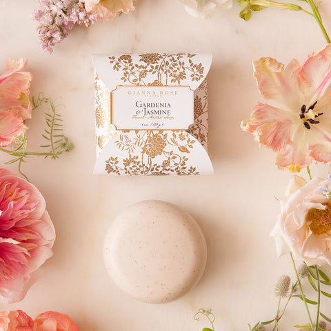 Gianna Rose Gardenia & Jasmine Bar Soap