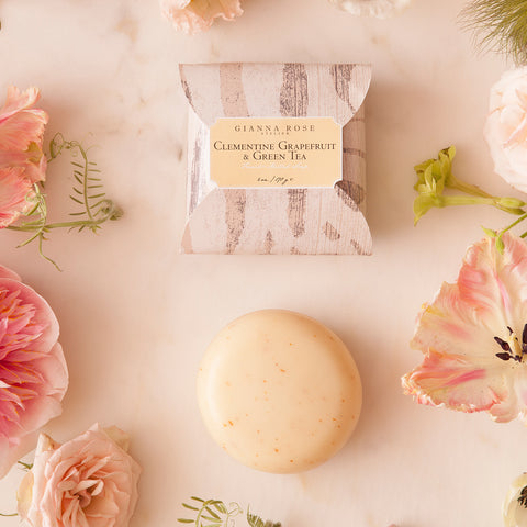 Gianna Rose Clementine, Grapefruit & Green Tea Bar Soap