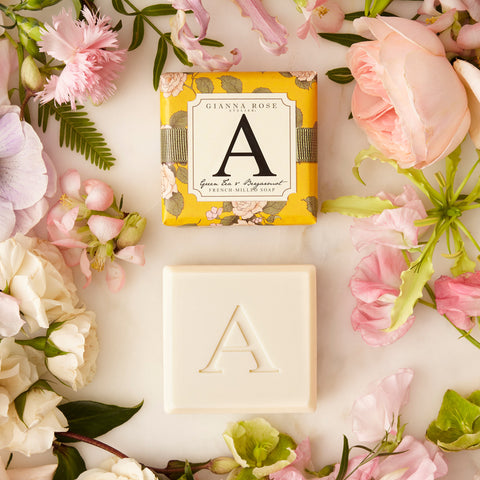 Gianna Rose Monogram Soap Letter A
