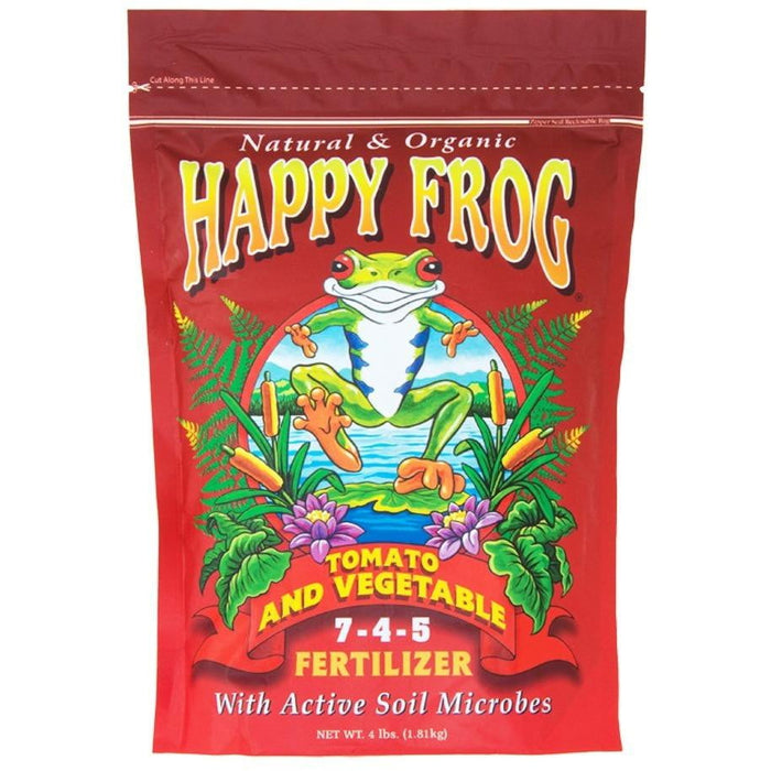 Happy Frog Tomato & Vegetable 4 Lbs - HydroPros.com