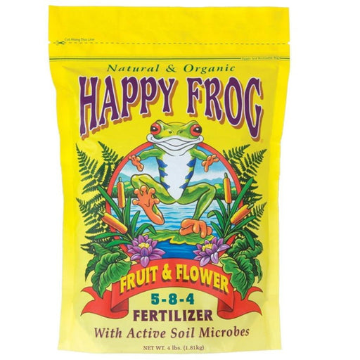 Happy Frog Fruit & Flower 4 lbs - HydroPros.com
