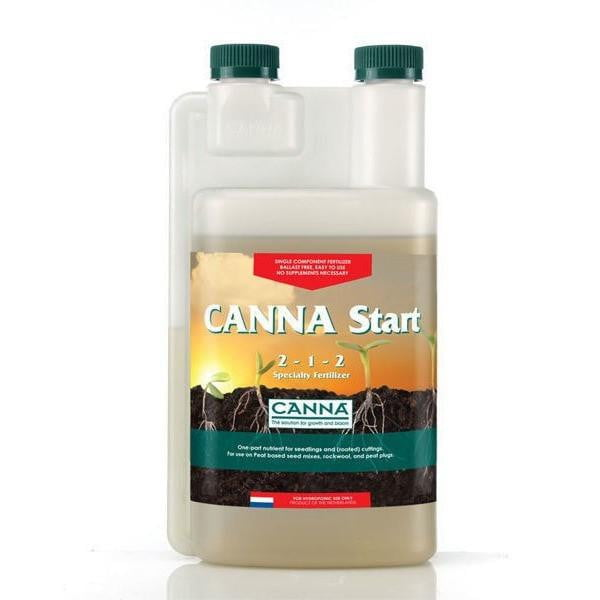 CANNA Start - One-Part Nutrient - For Seedlings and Rooted Cuttings - 2-1-2 NPK Ratio - CA
