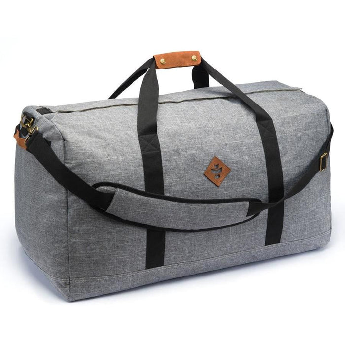 Revelry Supply The Continental Large Duffle, Crosshatch Grey - HydroPros.com