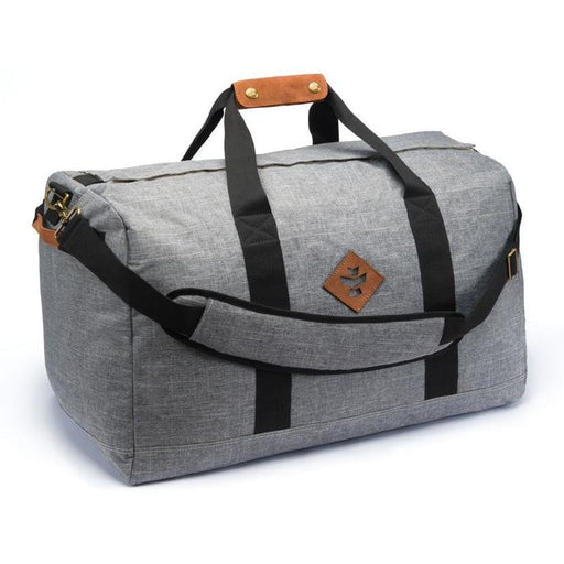 Revelry Supply The Around-Towner Medium Duffle, Crosshatch Grey - HydroPros.com