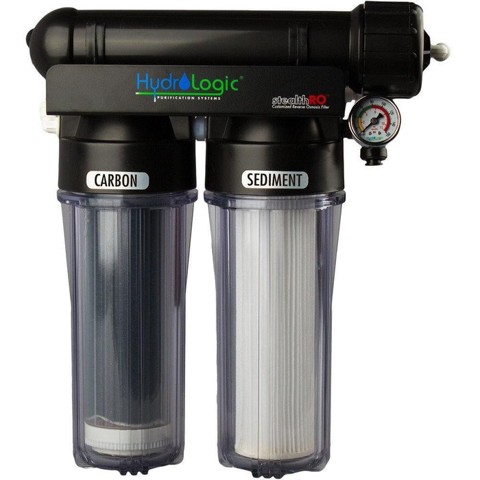 Hydro-Logic Stealth-RO150 with Upgraded KDF 85 Filter - HydroPros.com