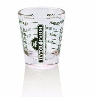 Mini Measuring Shot Glass Measure 1 oz - HydroPros.com