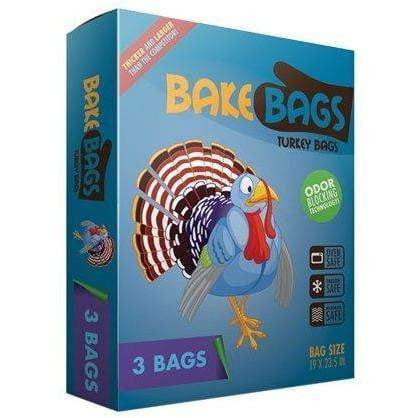 Bake Bags Turkey Bags 3 Bags 19 x 23.5 in