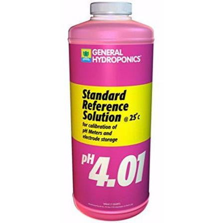 General Hydroponics Ph 4.01 Calibration Solution | HydroPros