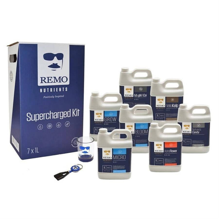 Remo's Nutrients Supercharged Kit - HydroPros.com