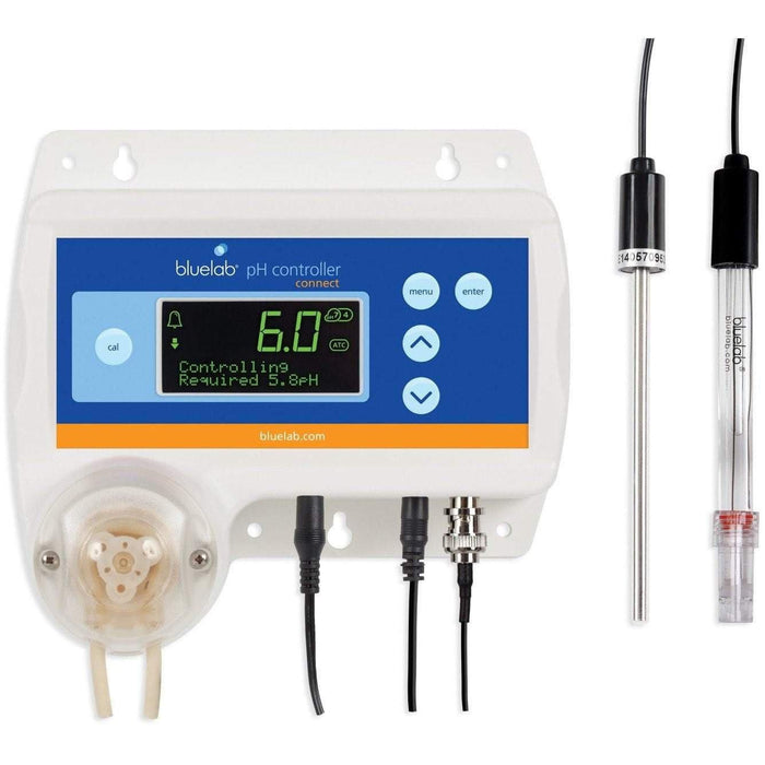 Bluelab pH Controller Connect with Clever Monitoring, Dosing and Data Logging of Solution pH Levels - HydroPros.com
