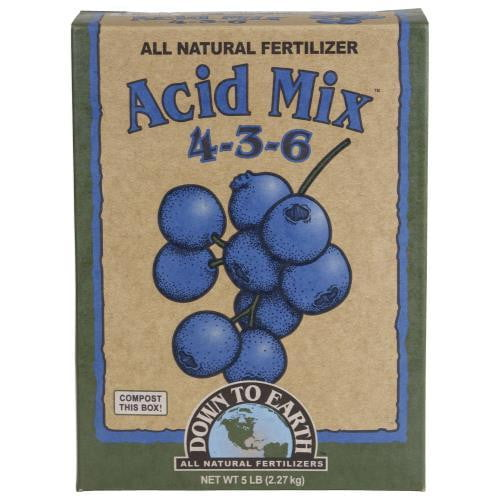 Down To Earth Acid Mix - HydroPros.com