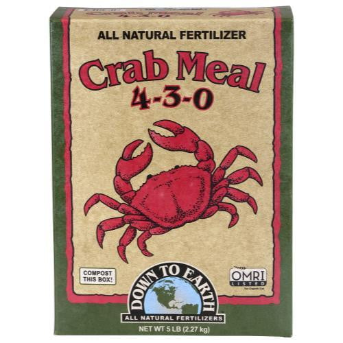Down To Earth Crab Meal - HydroPros.com