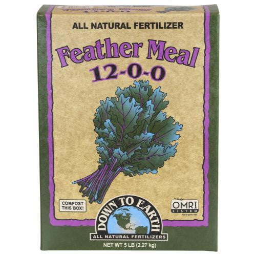 Down To Earth Feather Meal - HydroPros.com