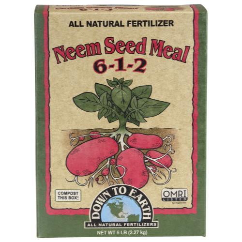 Down To Earth Neem Seed Meal - HydroPros.com