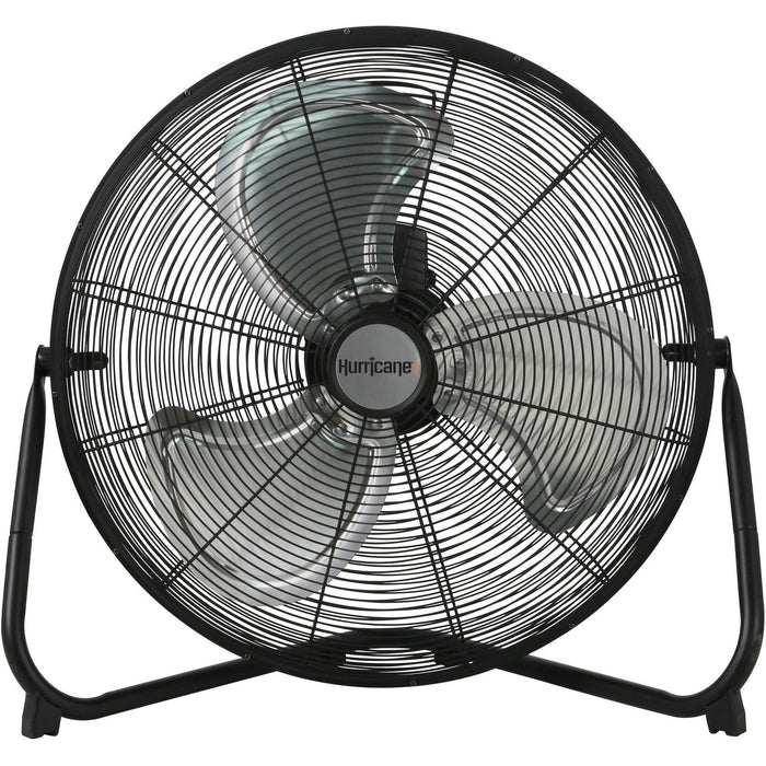 Hurricane Pro 20 inch High Velocity Metal Floor Fan - HydroPros.com